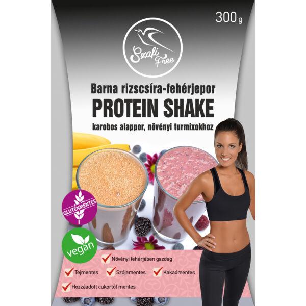 Barna rizscsíra fehérje por Protein Shake 300 g - Szafi Free