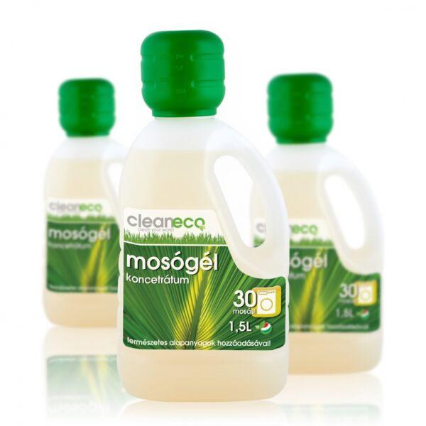 Mosógél koncentrátum cukornád kivonattal 1.5 l - cleaneco