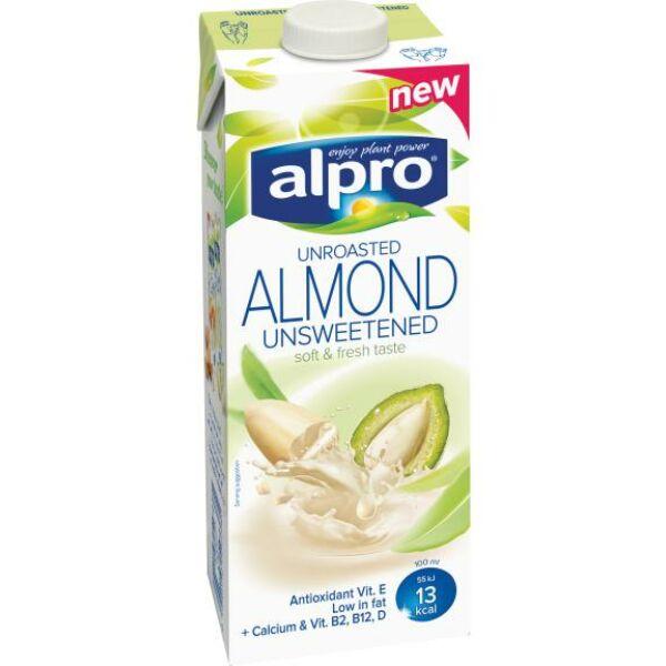 Mandulaital pörköletlen cukormentes 1000 ml - Alpro