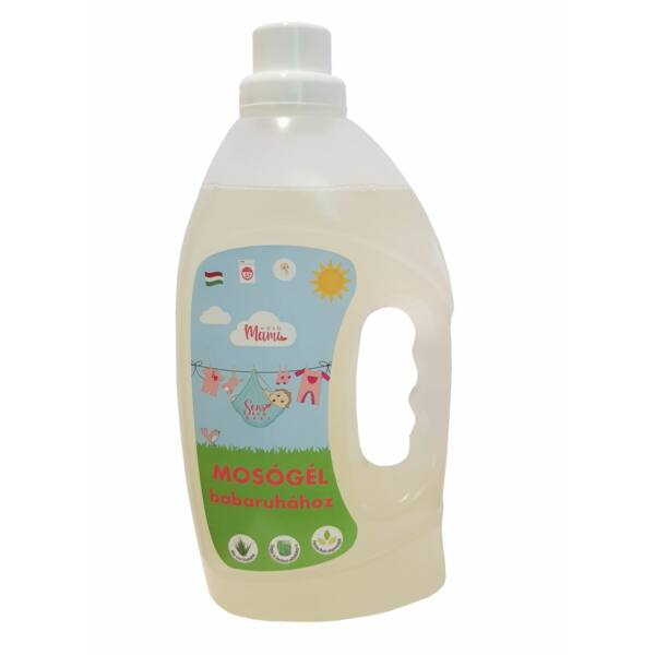 Mosógél babaruhához lány 1500 ml - Senseco Baby
