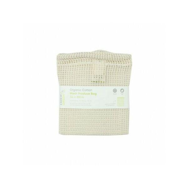 Biopamut hálós tároló zsák L méret (34x38 cm)