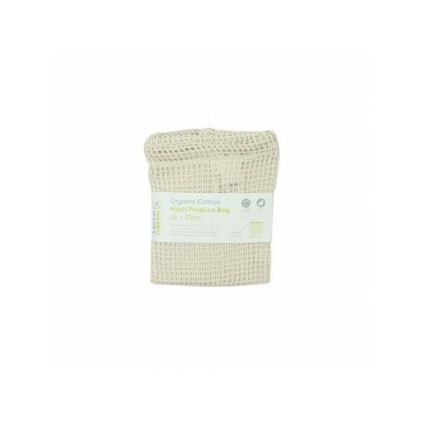Biopamut hálós tároló zsák M méret (26x32 cm)