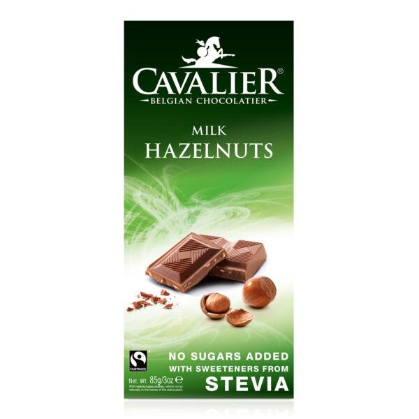 Tejcsokoládé mogyoróval 85 g - Cavalier