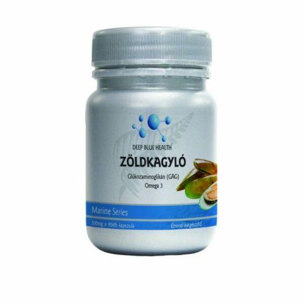 Zöldkagyló kapszula 500 mg 100 db kapszula - Deep Blue Health