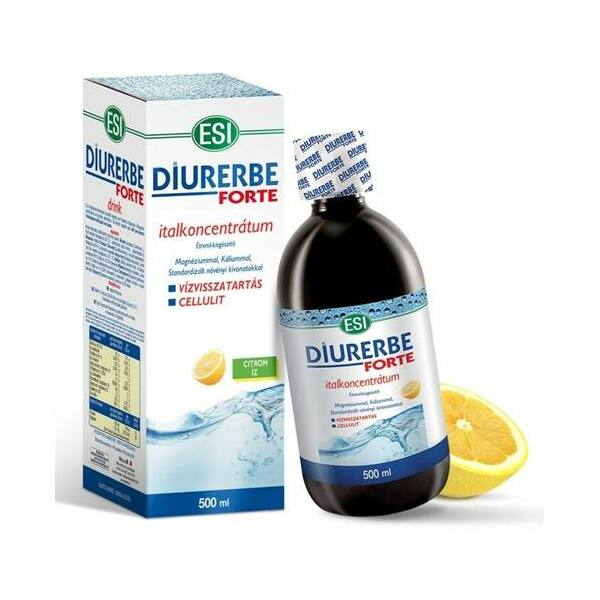 Diurerbe Forte citrom ízű italkoncentrátum 500 ml - ESI