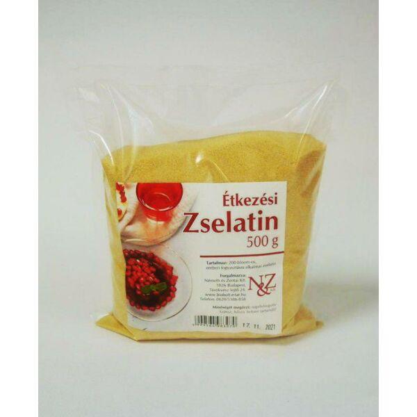 Étkezési zselatin 200 bloom 500 g - Németh és Zentai