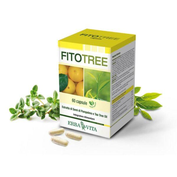 Fitotree parazita- és gombaölő kapszula 60 db (Grapefruitman kivonat, teafa, rozmaring és kakukkfű)