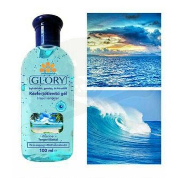 Glory kicsi kézfertőtlenítő gél tengeri 100 ml