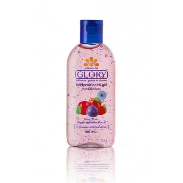 Glory kicsi kézfertőtlenítő gél vegyes gyümölcs 100 ml