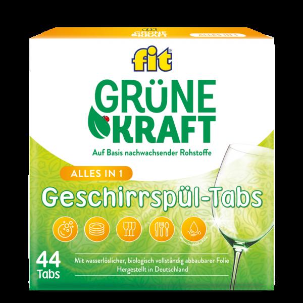 Grüne Kraft gépi mosogató tabletta Alles in 1 22x