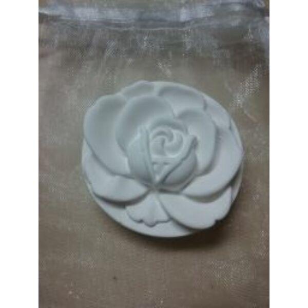 Kerámia illatkő rózsa