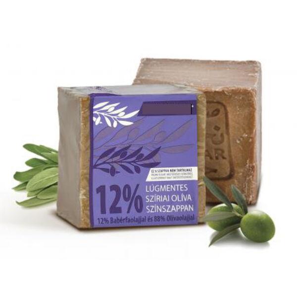 Szíriai oliva színszappan 12% babérolajjal 200 g - Najel