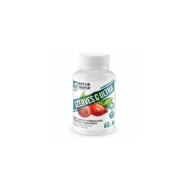 Natur Tanya® 1500 mg Retard C-vitamin, csipkebogyó kivonattal 60 db