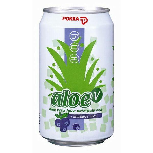 Aloe vera üdítőital áfonya 330 ml - Pokka