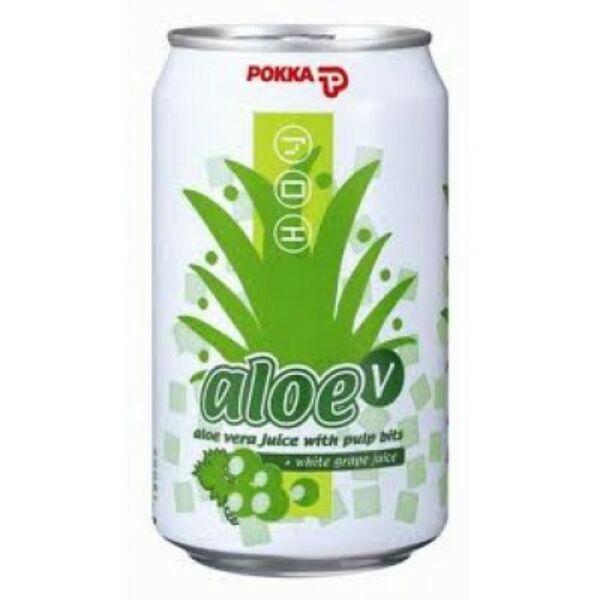 Aloe vera üdítőital szőlő 330 ml - Pokka
