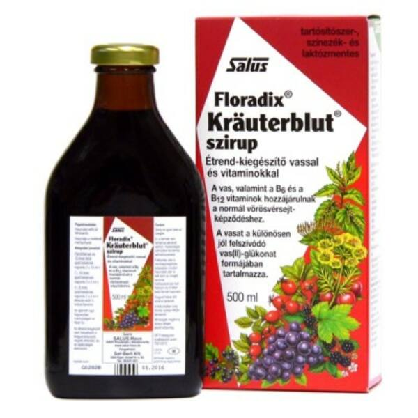 Krauterblut szirup 500 ml - Salus Floradix