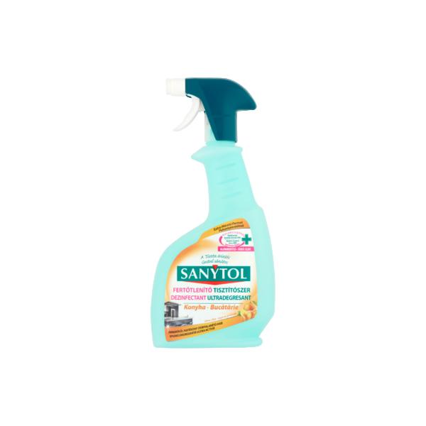 Sanytol fertőtlenítő konyhai spray 500 ml