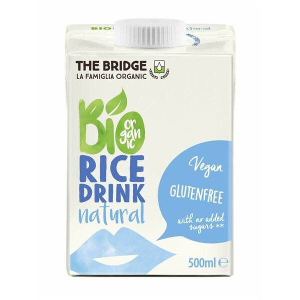 Rizs ital natúr bio 500 ml - The Bridge