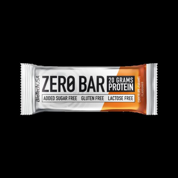 Biotech Zero Bar Szelet - Csokoládé és Karamell 50 g