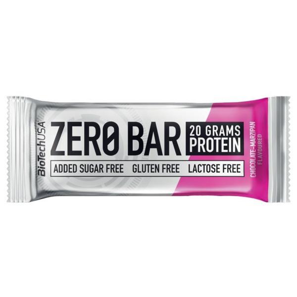 Biotech Zero Bar Szelet - Csokoládé és Marcipán 50 g