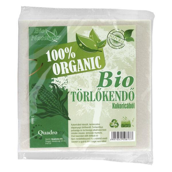 Bio törlőkendő kukoricából