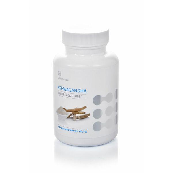ASHWAGANDHA kapszula 60 db - USA medical