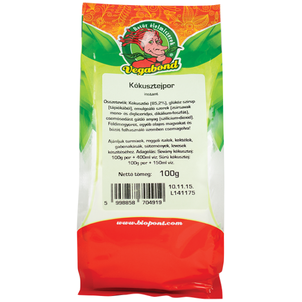 Kókusztejpor 100 g - Vegabond