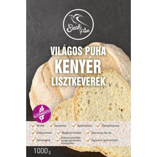 Világos puha kenyér lisztkeverék 1000 g - Szafi Free