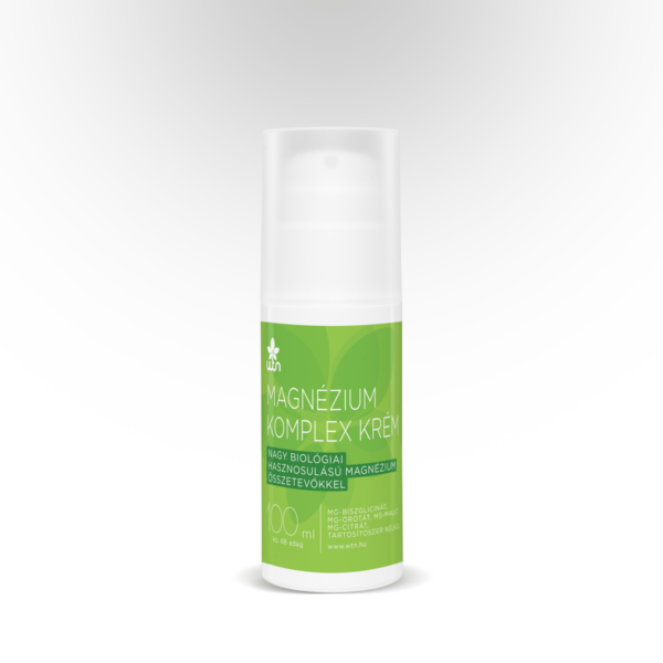 Magnézium komplex krém 100 ml - Wise Tree Naturals