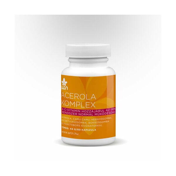 Acerola komplex 60 db kapszula - Wise Tree Naturals (WTN)