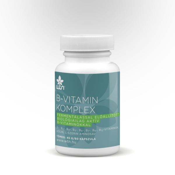 B-vitamin komplex 60 db kapszula - Wise Tree Naturals