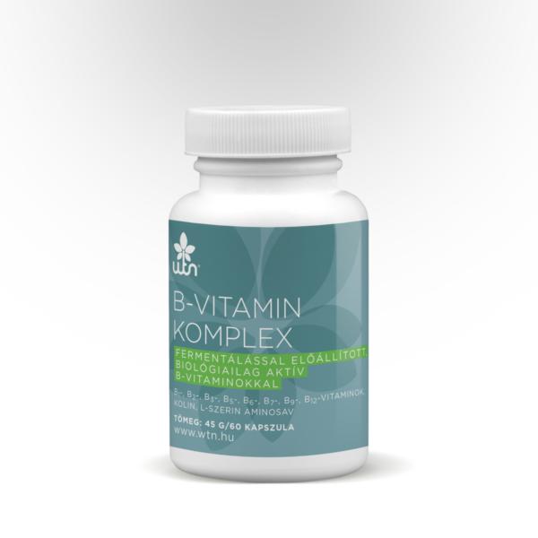 B-vitamin komplex 60 db kapszula - Wise Tree Naturals