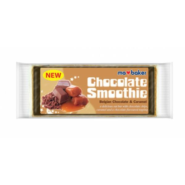 Zabszelet belga csoki-karamell Chocolate Smoothie 100 g - Ma Baker