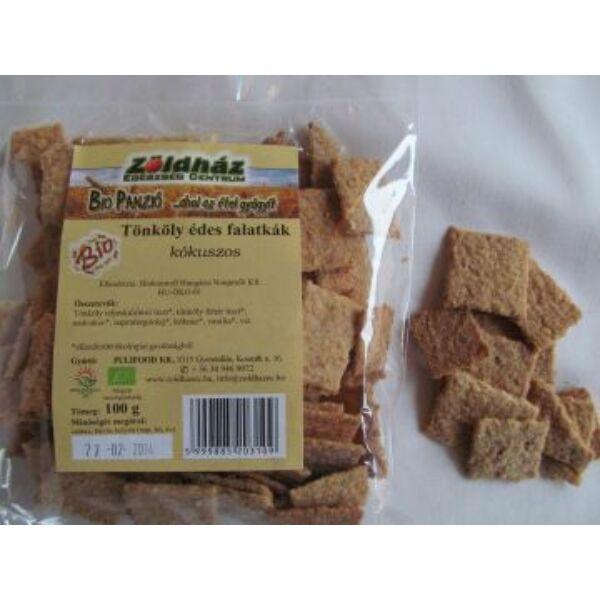 Bio tönköly édes falatkák kókuszos 100 g - Zöldház