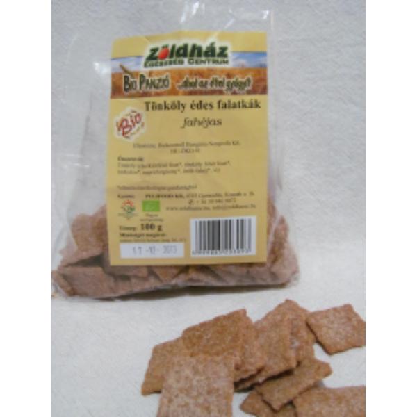 Bio tönköly édes falatkák fahéjas 100 g - Zöldház