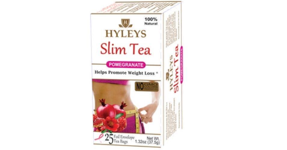 Hyleys Slim Zöld Tea - Gránátalma Ízű 25 Filter